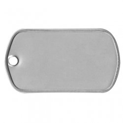 Mil-Spec Matte Dog Tag