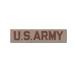 U.S. Army Name Tape (Desert)