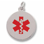 Medical Star of Life pendant