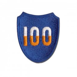 100th Division Patch