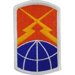 160th Signal Brigade Patch