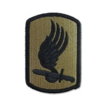 173rd Airborne Brigade Patch (subdued)