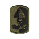 187th Infantry Brigade Patch (subdued)