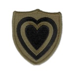 24th Corps Patch (subdued)