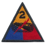 2nd Armored Division Patch