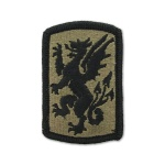 415th Chemical Brigade Patch (subdued)