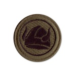 47th Infantry Division Patch (subdued)