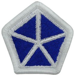 5th Corps Patch