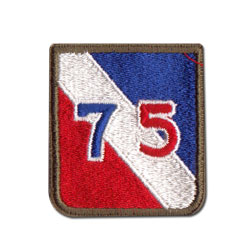 75th Infantry Division Patch