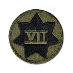 US Army 7th Corp Patch (subdued)