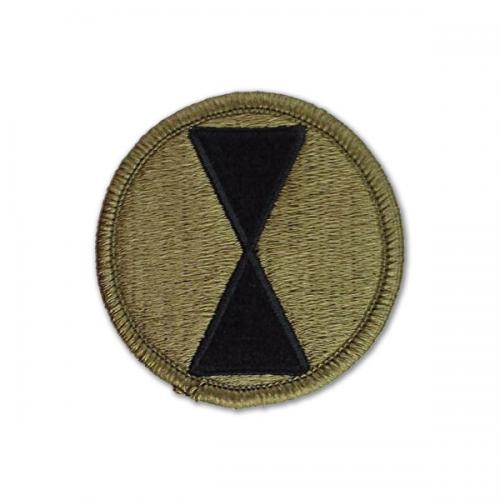 7th Infantry Division Patch (subdued)