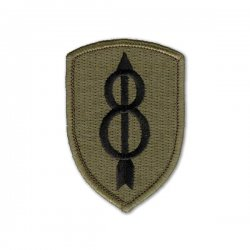 8th Infantry Division Patch (subdued)