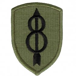 8th Infantry Division Patch OCP