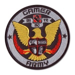Gamer Army Patch -$3.99