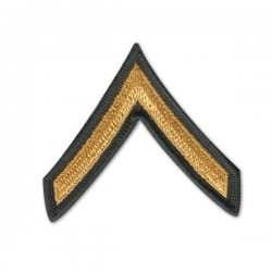 Private Second Class PV2 Shoulder Patch
