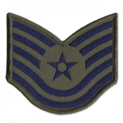 Technical Sergeant Patch