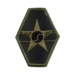 U.S. Army ROK Joint Field Army Patch (subdued)