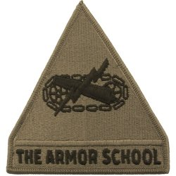 U.S. Armor School Patch OCP