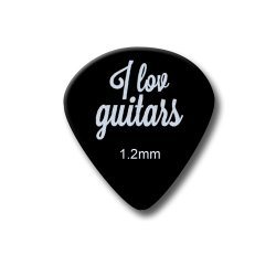Jazz Guitar Pick Style 551 - 1.2 mm (10 pack)