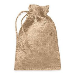 Natural Burlap Sac