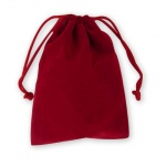 Red Velveteen Gift Sac