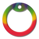 Rainbow Dog Tag Silencer