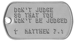 Bible Verse Dogtags DON