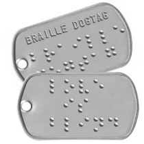 Braille Dog Tags & Signs