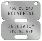 Wolverine Canadian Dog Tag