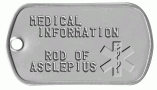 Medical Asklepian Tag