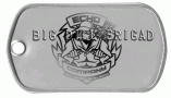 Big Dill Brigade Dog Tag