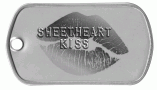 Sweetheart Kiss Dog Tag