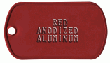 Red Medical Tag