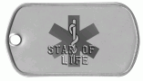 Star of Life Dog Tag
