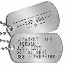 Costume Dog Tags