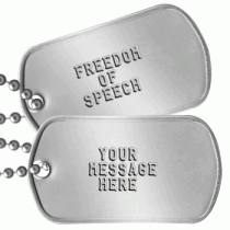 Message Dogtags