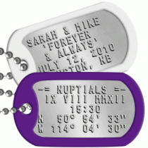 Wedding Dogtags