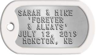 Wedding Guest Favor SARAH & MIKE   'FOREVER   & ALWAYS' JULY 12, 2019  MONCTON, NB