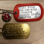 Dog Tags for alerting personal medical conditions